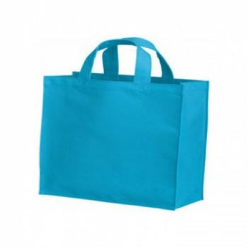 ポリカジュアルバッグ(S)のターコイズ