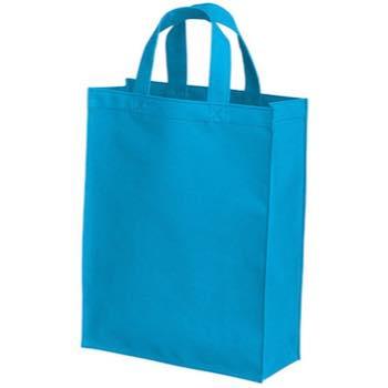 ポリカジュアルバッグ(M)のターコイズ