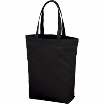 ポリキャンパストートバッグ(M)のブラック