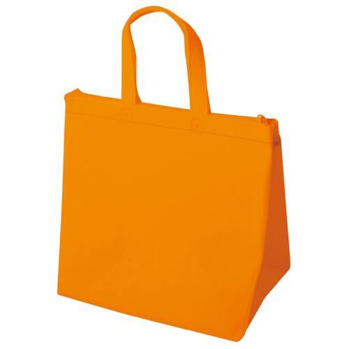保冷バッグ カラークールベーシック 小のオレンジ