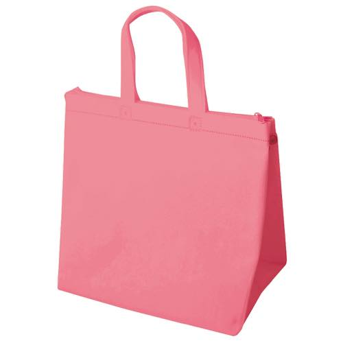 保冷バッグ カラークールベーシック 小のピンク