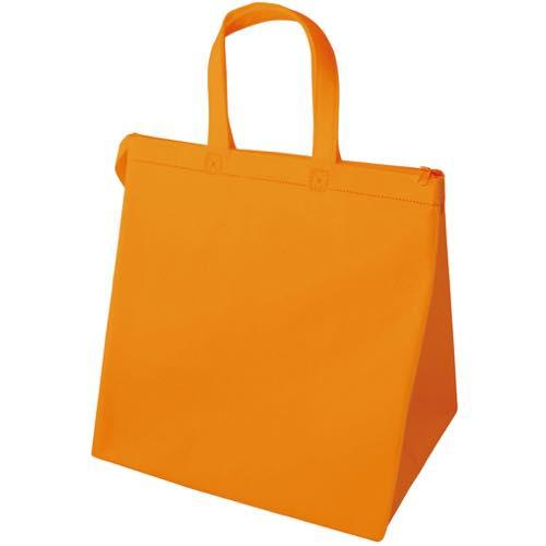 保冷バッグ カラークールベーシック 中のオレンジ
