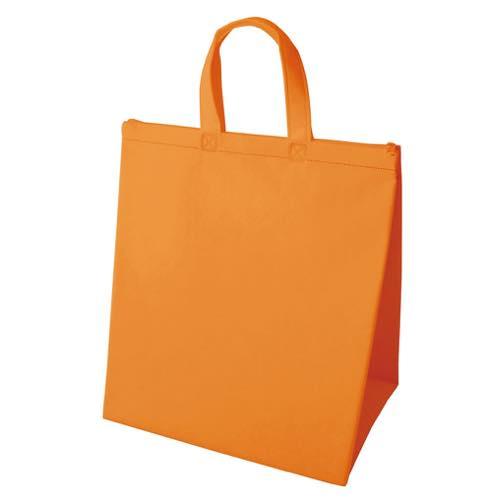 保冷バッグ カラークールベーシック 大のオレンジ