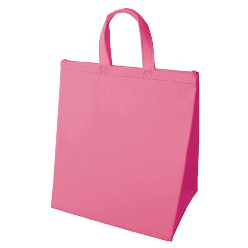 保冷バッグ カラークールベーシック 大のピンク