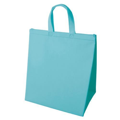 保冷バッグ カラークールベーシック 大のライトブルー