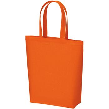 コットンバッグ(M)のオレンジ