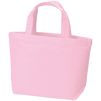 キャンバストート(S)のピンク