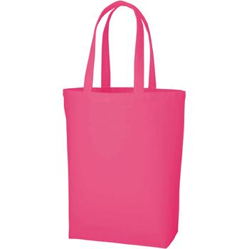 ポリキャンバストート(M)のピンク