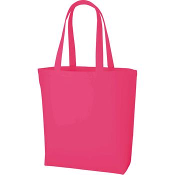 ポリキャンバストート(L)のピンク